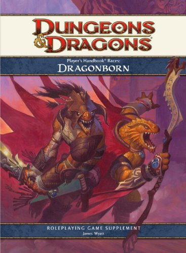 Player's Handbook Races: Dragonborn: A 4th Edition for sale  Delivered anywhere in USA
