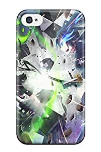 For Case Samsung Note 4 Cover Premium PC Skulls Black Rock Shooter Fights Anime Glowing Protective Case
