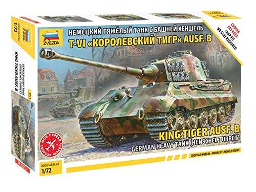Heavy Tank Turret (German King Tiger Ausf B Henschel Turret Heavy Tank (Snap) 1/72)