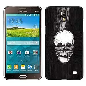 EJOY---Cubierta de la caja de protección para la piel dura ** Samsung Galaxy Mega 2 ** --Cráneo Pintura profundo Muerte Infierno Gondola