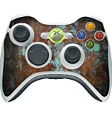Old Vintage Metal Background Texture Xbox 360 Wireless Controller Vinyl Decal Sticker Skin by Moonlight Printing