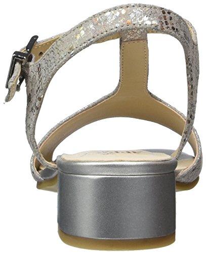 Grey Gris Caprice multi Salomés Rep Femme 28205 Oxapq0