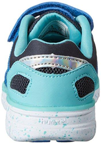 Hummel Crosslite Jr - Zapatillas Unisex Niños Azul (Imperial Blue)