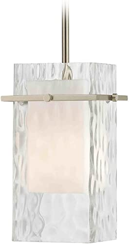 Design Classics Lighting Satin Nickel Mini Pendant Hanging Light
