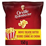 Orville Redenbacher Popcorn - Ready-to-Eat Movie Theatre Butter (12 pack with a total of 12 x 150g bags)