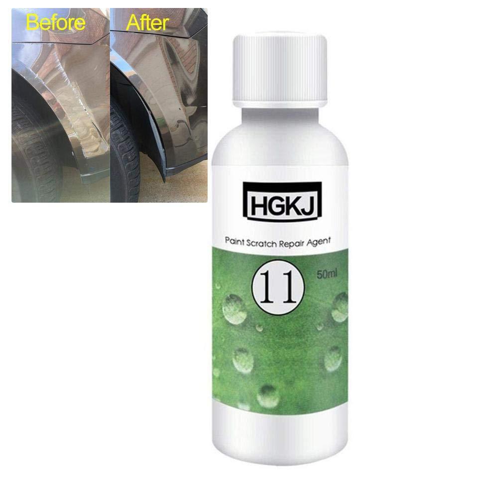 KOBWA 50ML Car Paint Protecter 9H Hardness Car Liquid Ceramic Coat Super Hydrophobic Glass Coating Sets, Nano Hydrophobic Coating Auto Maintenance Accessories