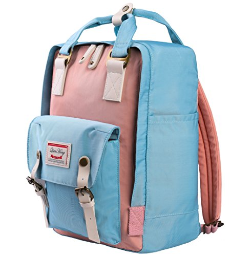 School Laptop Pink Travel Teenagers Backpack Campus Backpack Casual Blue Shop School Unisex Work Daypack Rucksack Gym Sport Waterproof QH Splash Shopping Nylon Light Multifunction Hiking Bags Clapboard q6n0Fxtw