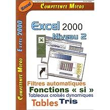 EXCEL 2000 NIVEAU 2
