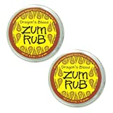 Indigo Wild: Zum Body Rub Goat's Milk & Shea Butter Moisturizer for Dry Skin, Dragon's Blood 2.5 Oz (2 pack)