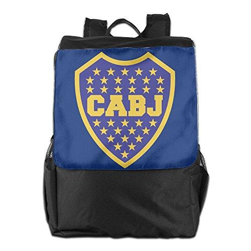 Boca Juniors Novelty Laptop Backpack Casual Daypacks Outdoor Sports Rucksack School Shoulder Bag For Men Women