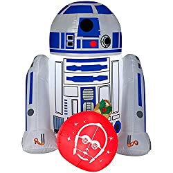 Star Wars R2D2 4FT Christmas Inflatable Outdoor Yard...