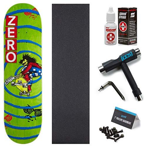 Zero INXS Burman Skateboard Deck - 8.25