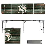 NCAA Sacramento State Hornets Weathered Version Folding Tailgate Table, 8'