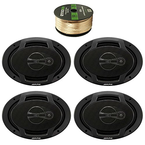 Car Audio Package: 4x Alpine SPJ-691C3 6 x 9