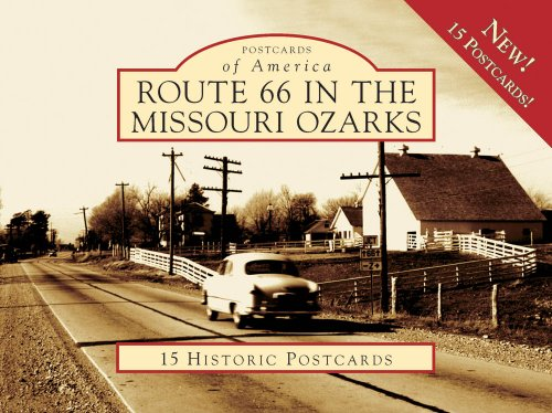 Postcard Missouri - Route 66 in the Missouri Ozarks (Postcards of America)