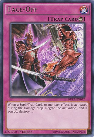 Yu-Gi-Oh! - Face-Off (DUEA-EN077) - Duelist Alliance - 1st Edition - Rare (Best Counter Trap Cards)