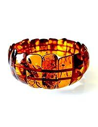 Natural Baltic Amber Bracelet / Anklet for Women / Certified Baltic Amber