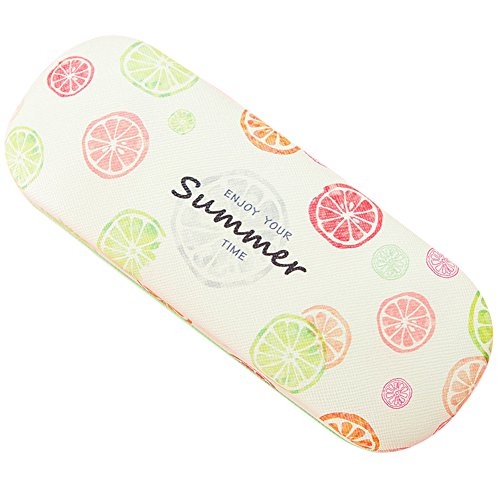 Lzttyee Cute Fruit Print Hard Shell Reading Myopia Glasses Eyeglass Case Spectacles Box - Spectacles Cool