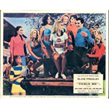 TICKLE ME ELVIS PRESLEY JOCELYN LANE CHEER LEADERS CARD
