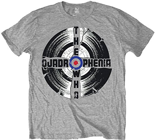 The Gris Who grey Hombre Grey Quadrophenia Camiseta 0zU0r