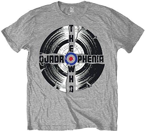 Quadrophenia Who The grey Hombre Gris Camiseta Grey Tq456C
