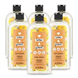 Love Home and Planet Dish Soap Citrus Yuzu & Vanilla 24 oz, 6 Pack