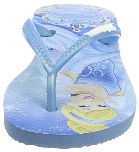 Havaianas Flip Flops Girls Slim Princess Blue QrrEg9S