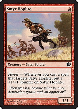 Magic: the Gathering - Satyr Hoplite - Journey into Nyx