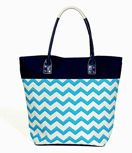 sassy-caddy-womens-golf-handbags-turquoise-navy-cream