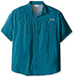 Columbia Sportswear Men\'s Tamiami II Short Sleeve Shirt, Deep Marine, XX-Large