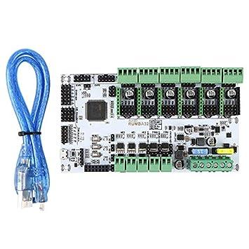 Nrpfell Accesorios de la Impresora 3D Placa de Control Principal ...