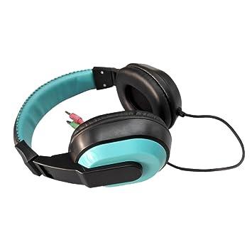 merymall Auriculares Estéreo DE 3,5 mm para Xiaomi MP3 MP4 Mic PC, Ordenador Portátil, Auriculares: Amazon.es: Electrónica