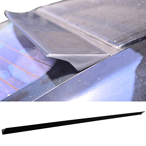 (Roof Spoiler Fits 2010-2014 Subaru Legacy | VRS Style PUF Unpainted Black Rear Window Roof Window Visor Spoiler Wing Other Color Available By IKON MOTORSPORTS | 2011 2012 2013)