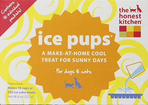 The Honest Kitchen Ice Pups Dog and Cat Treat, 8-Ounce