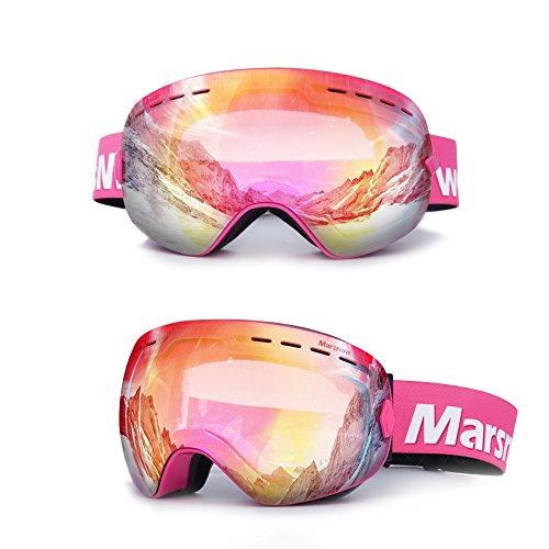 2237f0770d SE7VEN Masques De Ski EnfantsLentille Double Couche Antibuée ...