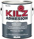 KILZ  Adhesion High-Bonding Interior Latex Primer/Sealer, White, 1 gallon