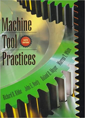 Machine tool practices 6th edition richard r kibbe john e machine tool practices 6th edition 6th edition fandeluxe Image collections