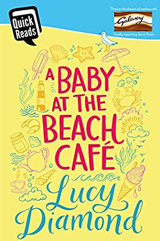 book cover of A Baby at the Beach Cafe