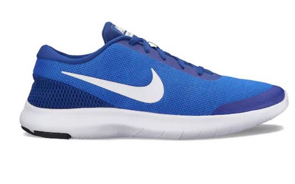NIKE Men's Flex Experience 7 Running Shoe B0722YD7PY 11.5 D(M) US|Hyper Royal/White-deep Royal Blue