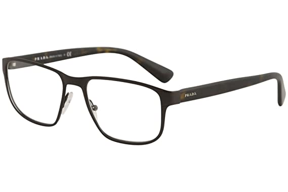 5f9864dcf11 Image Unavailable. Image not available for. Color  Prada PR56SV Eyeglass  Frames LAH1O1-55 - Matte ...