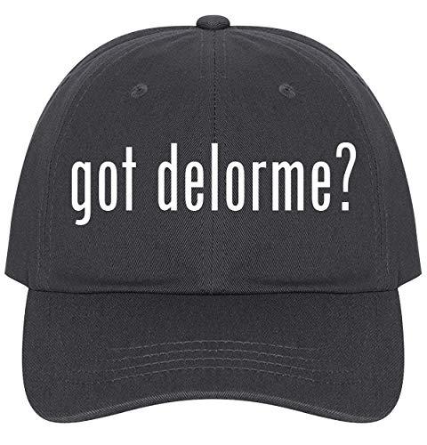 The Town Butler got Delorme? - A Nice Comfortable Adjustable Dad Hat Cap, Dark -