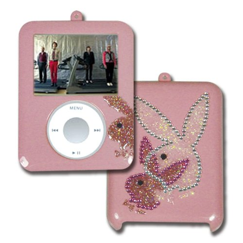 PLAYBOY Snap On Case for ipod Nano Video 3G (Pink) (Sock Pink Ipod)
