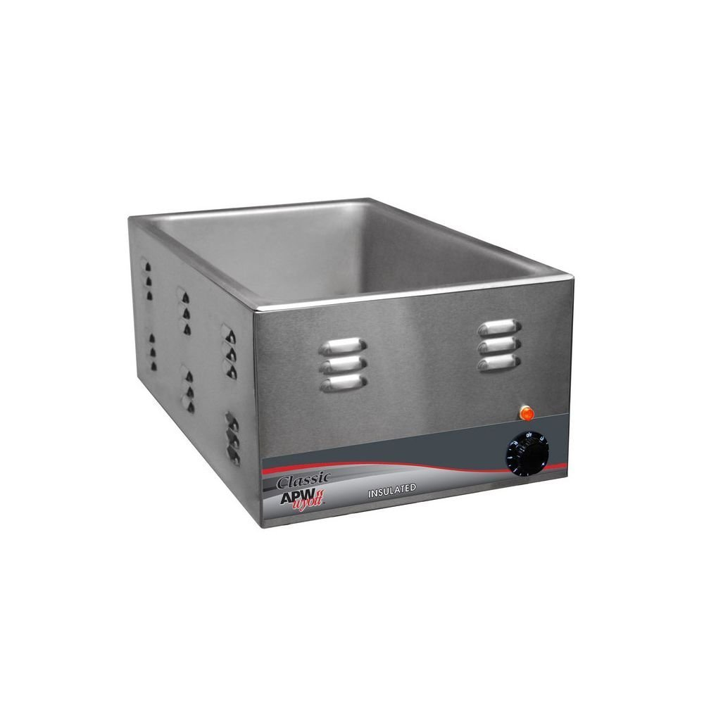 APW Wyott W-3VI Classic Countertop 22 Qt. Food Warmer
