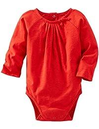 OshKosh B'gosh Baby Girls' Knit Bodysuit (Baby) - Red - 3 Months