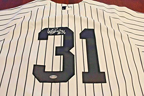 New York Yankees Ichiro Suzuki Game Used Autographed Signed Home Jersey Kansas City Steiner - Certified Signature