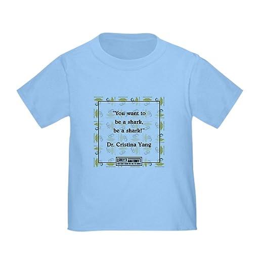 95ca08f10 Amazon.com: CafePress BE A Shark! Cute Toddler T-Shirt, 100% Cotton ...