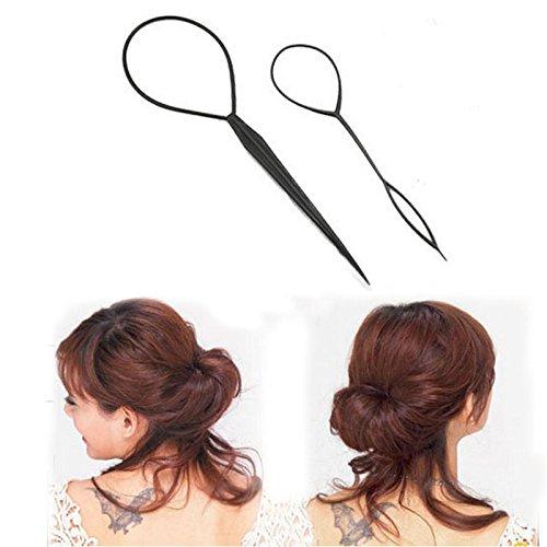 2 Topsy Tail Hair Braid Ponytail Styling Maker Pin Tool