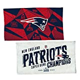 McArthur New England Patriots Super Bowl LIII Champions Locker Room Towel