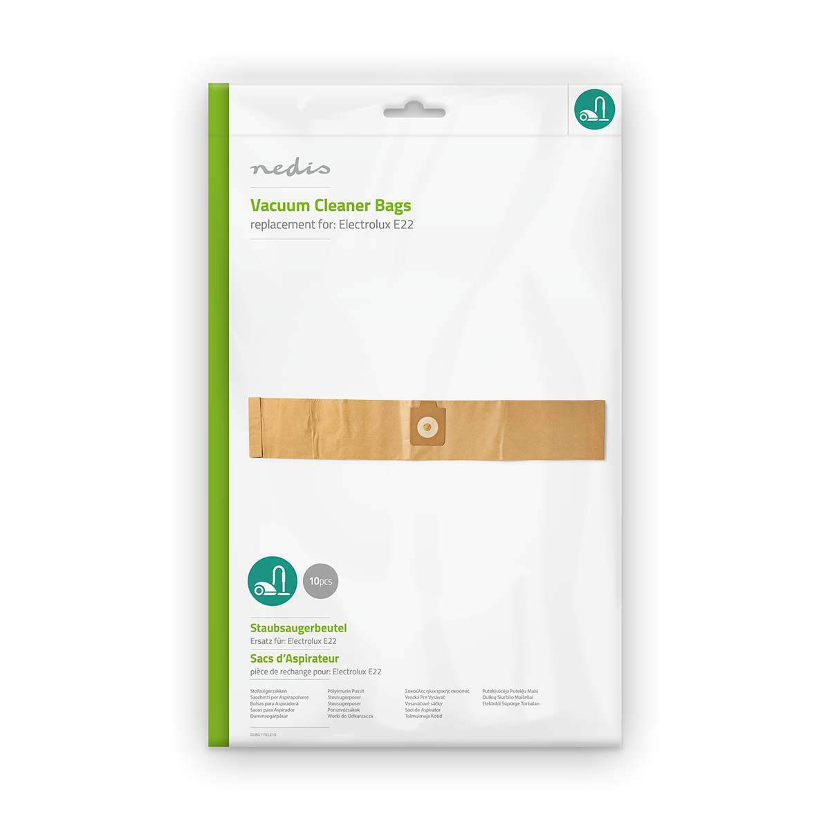 NEDIS DUBG111ELE10 Bolsa para Aspiradora | Electrolux E22: Amazon ...