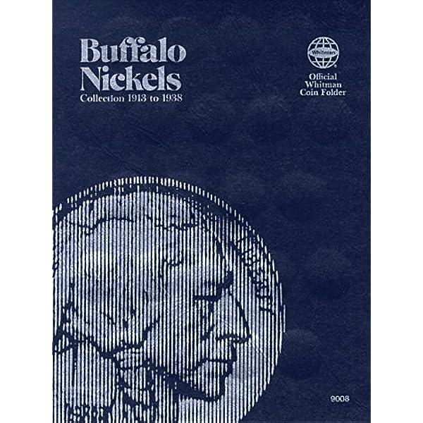 BUFFALO NICKELS 1913-1938 #9008 WHITMAN FOLDER